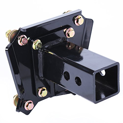 """ECOTRIC Trailer Receiver Hitch 2"""" Bolt On Compatible with 2017-2020 Polaris RZR XP 4 1000 Razor 3000lbs"""