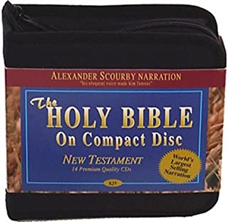 Alexander Scourby - King James Version - New Testament - Audio Bible on CD Audio book