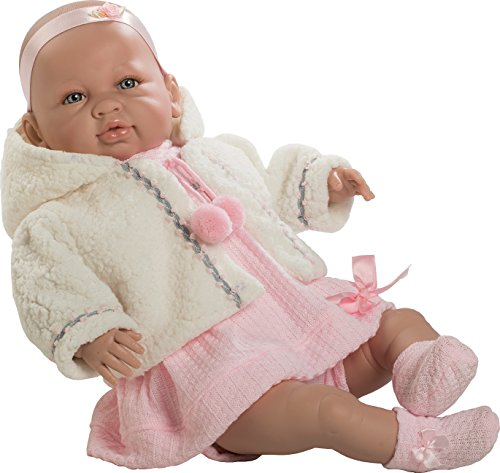 Muñecas Berbesa - 5204 - Sara Baby R.N. Poupée - 52 Cm