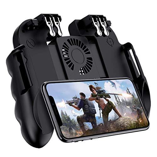 ZHANGXJ Wireless Controller H9 Six Finger PUBG Game Controller Gamepad Trigger-Shooting Free Fire Lüfter Gamepad Joystick Für Ios Android-Handy
