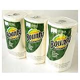 Bounty Paper Towels 3Rolls バウンティ ペーパータオル 3ロール(279×149mm2枚重ね105シート×3ロール)