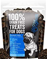 100% Natural & Premium - Our premium natural dog treat kibble is made from 80% Fish meat and 20% potato & Salmon Stock! No additives, no nasties and 100% natural. Your pooch will love our training treats, great for your dogs health and great tasting ...