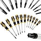 Set de tournevis magnétiques Torx 11 pièces Intérieur en acier chrome vanadium