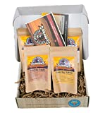 Specialty Coffee Whole Bean Sampler - Sample Gourmet Arabica Coffee Beans From All Over the World - Premium Gift Box for All Occasions - Fresh Roasted in USA, by Native American Coffee