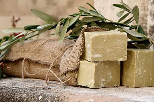 Moè® Olivenölseife - 100% Naturprodukt 100% Vegan. mit Vitamin E, A, C - Olivenöl Seife - Silikonfrei - Ohne Künstliche Zusatzstoffe- Plastikfreie Verpackung - Moè®