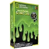 National Geographic Slime DIY Science Lab – Make Glowing Slime (Green)