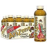 Arizona Premium Brewed Diet Green Tea, 16 Fl Oz (Pack of 12)