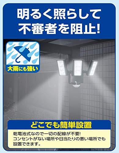 ELPA『LEDセンサーライト』