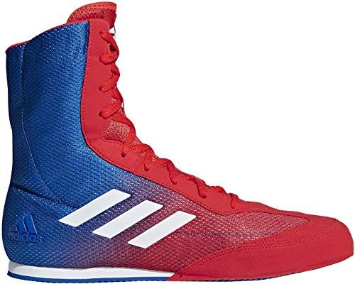 adidas Herren Box Hog Plus Boxschuhe| Mehrfarbig (Rot/Blau Rot/Blau)| 42 2/3 EU | Schuhe > Sportschuhe > Boxschuhe | adidas