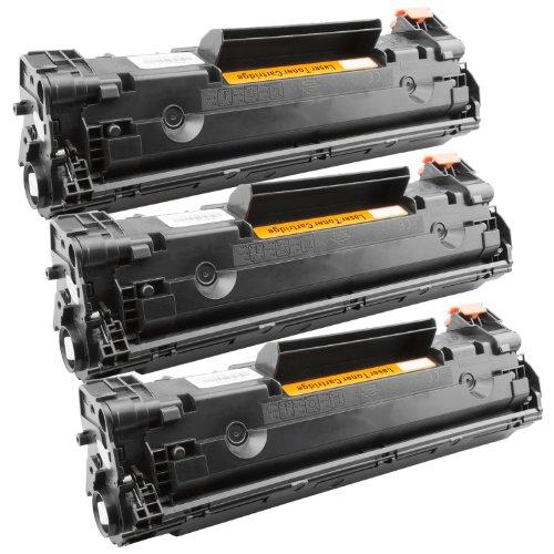 Tito-Express PlatinumSerie 3X Toner-Kartusche XXL Schwarz für Canon CRG-728 EP-728 I-Sensys MF4570 Fax L150 L170 L410