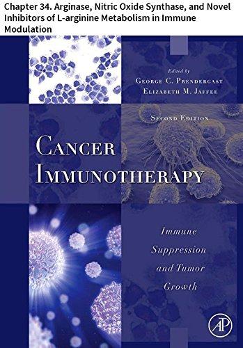 Cancer Immunotherapy: Chapter 34. Arginase, Nitric Oxide Synthase, and Novel Inhibitors of L-arginine Metabolism in Immune Modulation (English Edition)