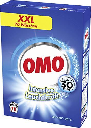 Omo Universal-Waschmittel für strahlende Sauberkeit Intensive Leuchtkraft mit Leuchtkraft-Booster 70 WL 1 Stück