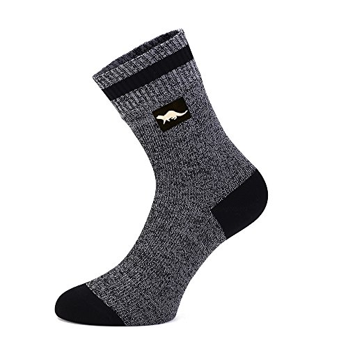 OTTER Calcetines Transpirables e Impermeables (Gris Oscuro