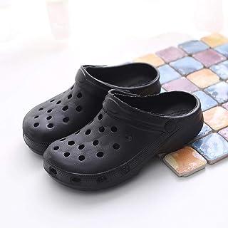 N / A Damesschoenen, herfst antislip mode Slippers, paar gat Slippers, thuis Unisex Slippers-zwart_38