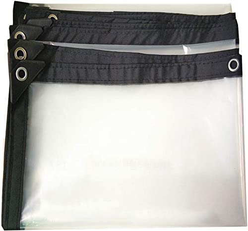 Z-P Bache Imperméable Tente Baches en Plastique Transparent De Couleur Crème Solaire Couverture Pluie Voiture Bache PE Peut être Taille Personnalisée