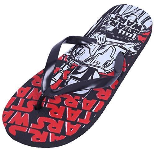 Chanclas Color Negro Rojo Star Wars DISNEY 26/27 EU