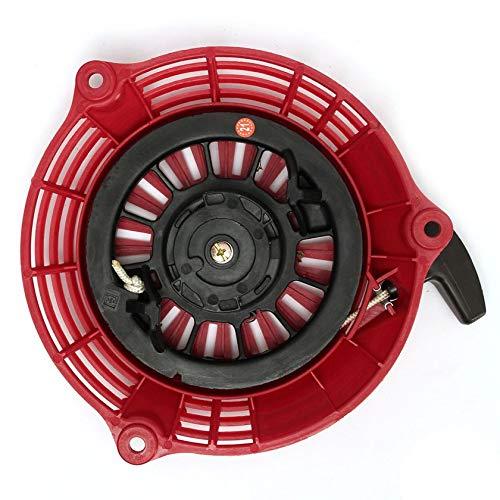 Arrancador de retroceso de plástico fácil de instalar, alternativa adecuada para motor generador de cortacésped Honda GCV135 GCV160 EN2000 HRU19