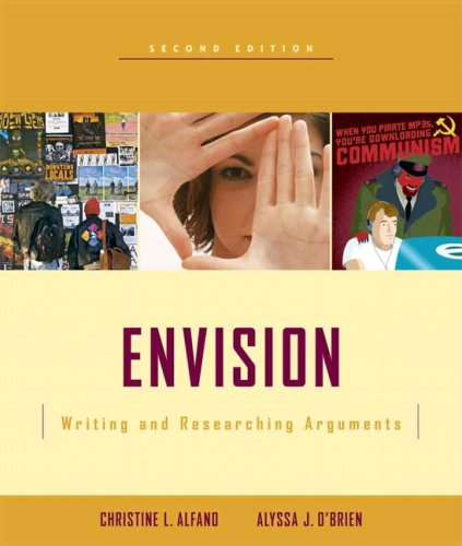 Envision: Writing and Researching Arguments Value Pack (includes MyCompLab NEW Student Access& Writing and Reading Acros