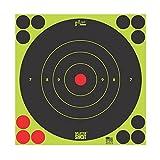 Pro Shot Bull's-Eye Target (30 Pack), Green