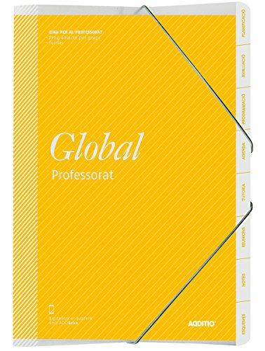 Additio P171 - Carpeta Global para el profesorado (catalán), colores surtidos