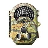 Siensen Caméra de traînée 16 MP 1080P, 65ft / 20m PIR Distance PIR 120 Degrés Grand Angle, Chasse Caméra 940nm Pas de Glow Vision Nocturne Motion Déclenchement Rapide Et Imperméable Déclenché