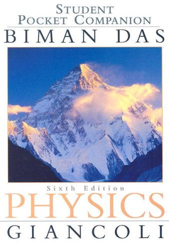 Student Pocket Companion: Physics Principles with Applications, 6th Edition