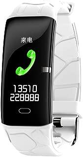 Jiayaofu 【2019最新版】 スマートウォッチ 心拍計 活動量計 IP67防水 男女兼用 スマートブレスレット 歩数計 睡眠検測 カラースクリーン 着信電話通知/SMS/Twitter/Line 健康サポート機器 iphone/Android対応