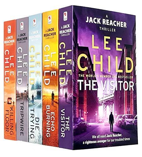 Lee Child Jack Reacher Series 1-5 Collection 5 Books Bundl