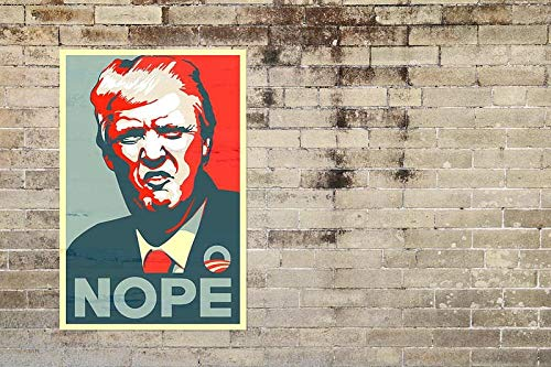 NORQWR 1000 Pieces Jigsaw Puzzles for Adults and Teenagers-Donald Trump Poster-Can Be Used As A Gift-75X50cm