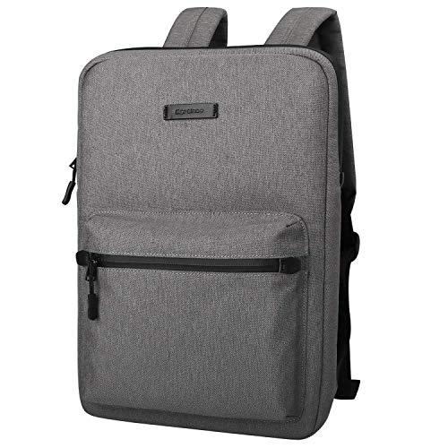 JiuRui Tablets oder Telefon Etuis & Hüllen, Laptop-Tasche Leinwand-Leicht-Laptop-Tasche, Mode Laptop Rucksäcke, 15,6 Zoll (Color : Dark Gray, Size : 15-15.6inch)
