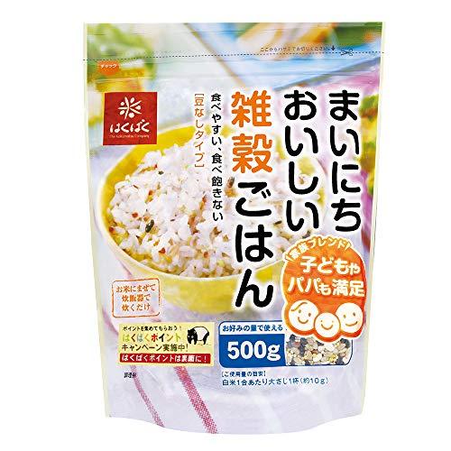 はくばくまいにちおいしい雑穀ごはん500g×3個