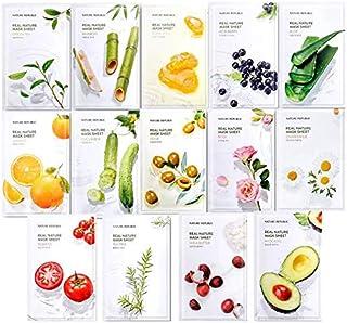 Nature Republic Frisch verpackte koreanische Gesichtsmaske aus natürlichem Pflanzenextrakt Erneuerung 14er Pack