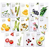 Nature Republic Real Nature Mask Sheet (14 type), Nature made Freshly packed Korean...