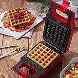 Fabricante de sándwich de waffle Placas recubiertas no paldias...