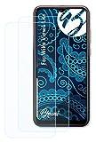 Bruni Schutzfolie kompatibel mit Wiko View4 Lite Folie, glasklare Bildschirmschutzfolie (2X)