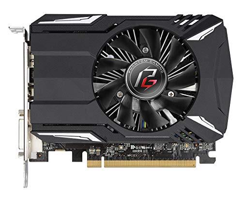 ASRock Phantom Gaming Radeon RX550 2G Grafikkarte, schwarz