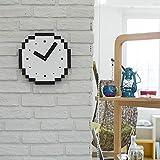 W.Z.H.H.H Reloj de Pared Reloj de Habitaciones Pared de la Manera 10 Pulgadas pequeño Reloj de Pared de la Sala de Arte del Mudo de Estar Dormitorio de los niños