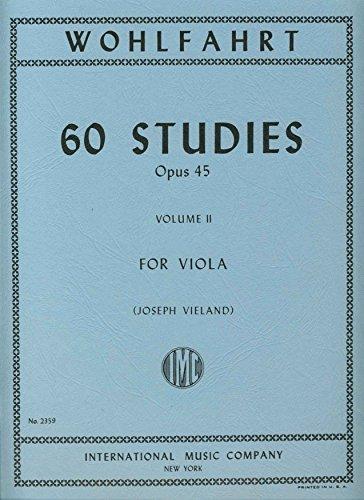 Wohlfahrt Franz 60 Studies Op. 4...