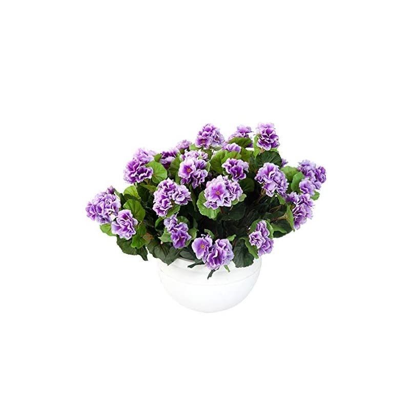 silk flower arrangements mynse pack of 2 pieces artificial begonia flowers potted silk begonia flowers for indoor decoration