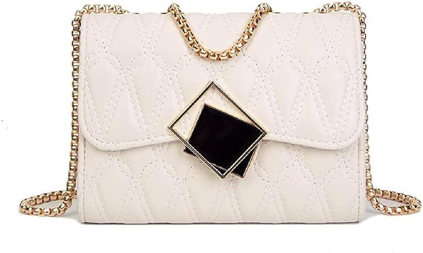 Women's Crossbody Bag Gold Chain Fashionable Banquet Dress Handbag