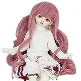 Wigs Only 8-9' 1/3 BJD Wig Pink Hair Dal Pullip BJD SD LUTS DOD Dollfie Doll Wig not for Kids