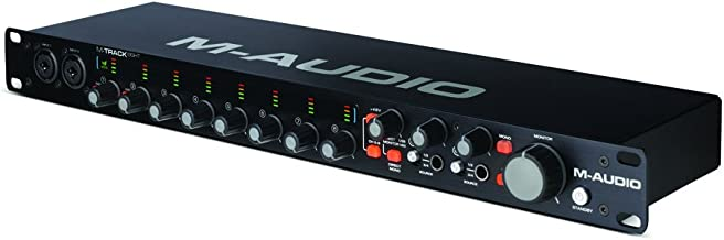 M-Audio M-Track Eight | 8-Channel High-Resolution USB 2.0 Audio Interface with Octane Preamp (24-bit/96 kHz)