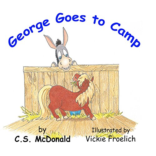George Goes to Camp audiobook cover art
