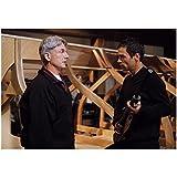 NCIS Mark Harmon Leroy Jethro Gibbs and Cast Holding Gun 8 x 10 Photo