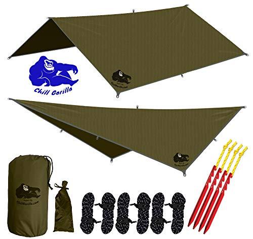 Chill Gorilla 10x10 Ripstop Nylon Survival Tent