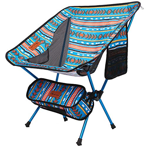 Moon Lence アウトドア チェア キャンプ 椅子 コンパクト 折りたたみ 超軽量 収納バッグ ハイキング 耐荷重150kg