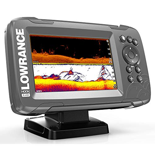 Price comparison product image Lowrance Hook² 5 with SplitShot Transducer and US / Canada Nav+ Maps