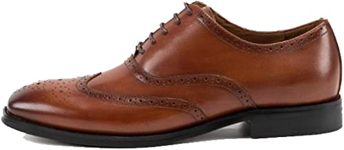 zapatos para hombres Broch Business Comfort Casual Transpirable Wearable Lace
