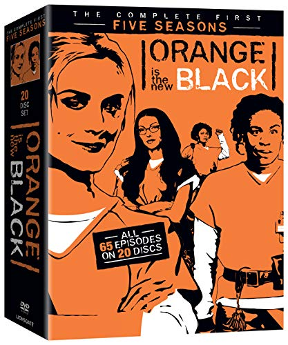 Orange Is Tne New Black: Season 1-5 (20 Blu-Ray) [Edizione: Stati Uniti] [Italia] [DVD]