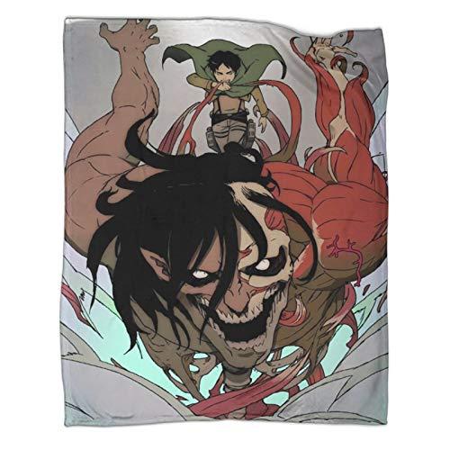 Xaviera Doherty Attack on Titan Wonderful Limited Anime beliebte Decken, 100 x 130 cm, weiche und bequeme Bettdecke, Kinderbettwäsche